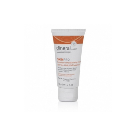 Skinpro Hydratant protection visage SPF50 - 50 ml - Clineral