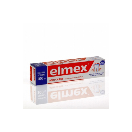 Dentifrice protection caries - 100 ml - Elmex