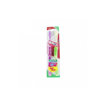 Brosse à dents Technique Pro souple modèle 252 - lot de 2 brosses à dents