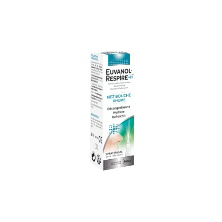 Euvanol-Respire + Spray nasal - 20 ml - Merck Médication Familiale