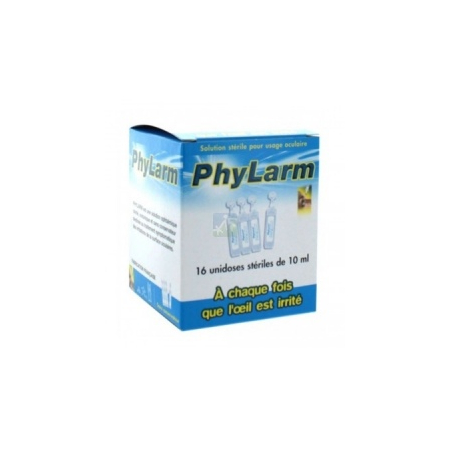 Phylarm Solution stérile - 16 unidoses stériles de 10 ml - LCA Pharmaceutical