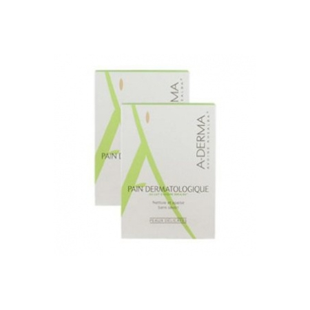 Soins Originels Pain dermatologique au lait d'avoine - lot de 2 x 100 g