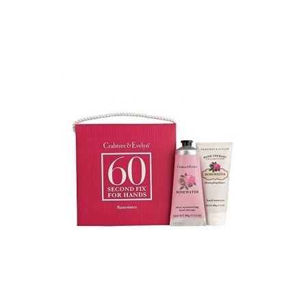 Rosewater Kit mains 60 secondes