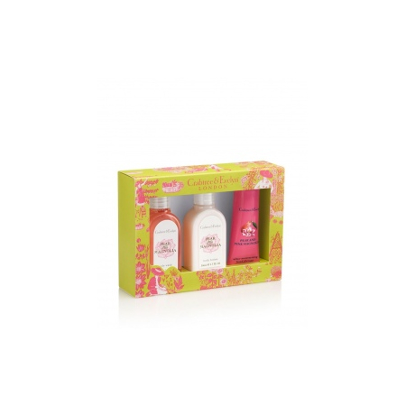 Coffret Corps et Mains Pear and Pink Magnolia - Crabtree & Evelyn