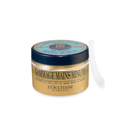 gommage mains minute au karit 100 ml l 39 occitane shoptimise. Black Bedroom Furniture Sets. Home Design Ideas