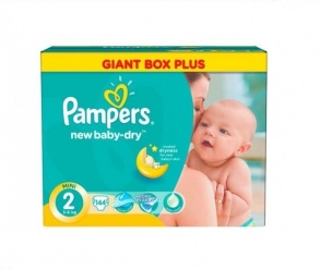 Prix de pampers couches new baby taille 2 3 6 kg paquet de 144 couches - Comparateur de prix couches pampers ...