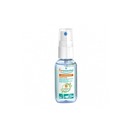 Lotion spray antibactérien mains et surfaces - 25 ml - Puressentiel
