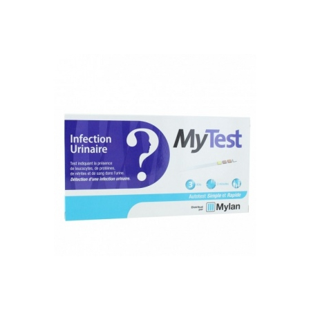My Test auto-test infection urinaire - 3 kits