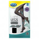 Light Legs Collants de maintien 20 deniers couleur noire - taille XL