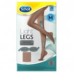 Light Legs Collants de maintien 20 deniers couleur chair - taille M - Scholl