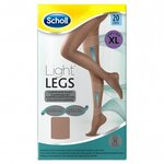 Light Legs Collants de maintien 20 deniers couleur chair - taille XL - Scholl