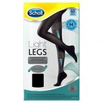 Light Legs Collants de maintien 60 deniers couleur noire - taille M - Scholl