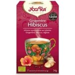 Gingembre Hibiscus - Infusion bio - 17 sachets