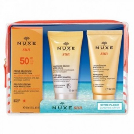 Trousse Solaire SPF 50+ - 3 x 50 ml - Nuxe
