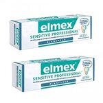 Dentifrice Elmex Sensitive Professional Blancheur - Lot de 2 tubes de 75 ml