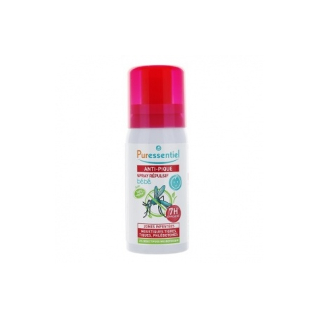 Anti-pique spray Bébé 7h - 60 ml - Puressentiel