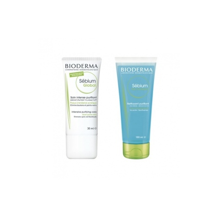 Sébium global 30 ml & Gel Moussant 100 ml - Bioderma