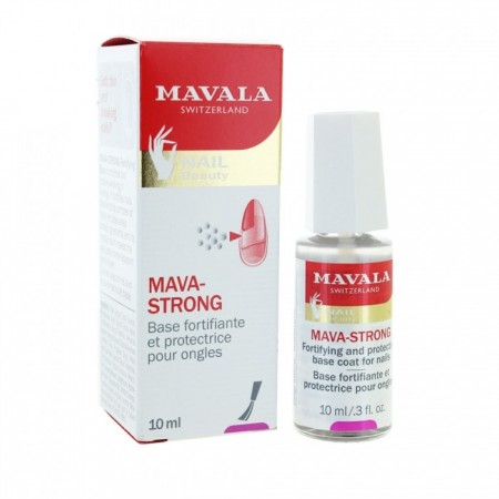 Mava-Strong - Base fortifiante et protectrice des ongles - 10 ml - Mavala