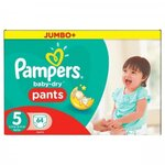 Baby Dry Pants Taille 5  (de 11 à 18 kg) - 64 couches - Pampers