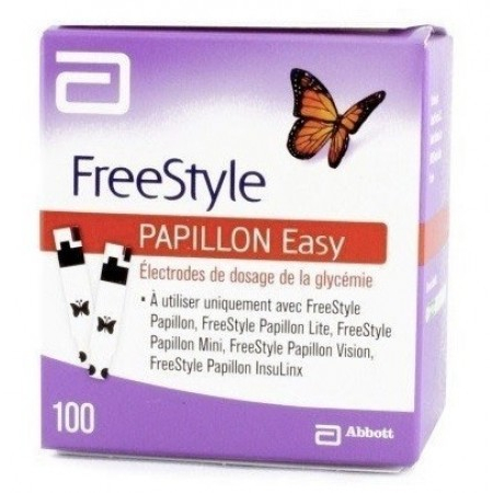 Papillon Easy - 100 électrodes - Abbott Diabetes Care