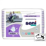 Active Plus - Taille Medium - Carton 80 slips absorbants