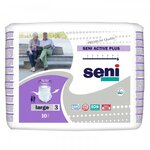 Active Plus - Taille Large - 10 slips absorbants