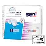 Active Super - Taille Small - Carton 80 slips absorbants