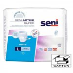 Active Super - Taille Large - Carton 80 slips absorbants