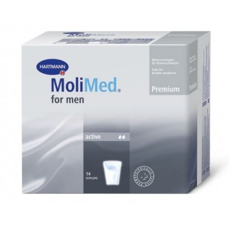 MoliMed For Men Active - 14 protections anatomiques - Hartmann
