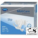 MoliCare Premium Soft Extra Plus - Taille Large - Carton 90 changes complets