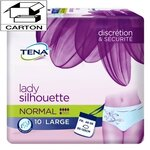 Lady Silhouette Normal - Taille Large - Carton 60 culottes absorbantes