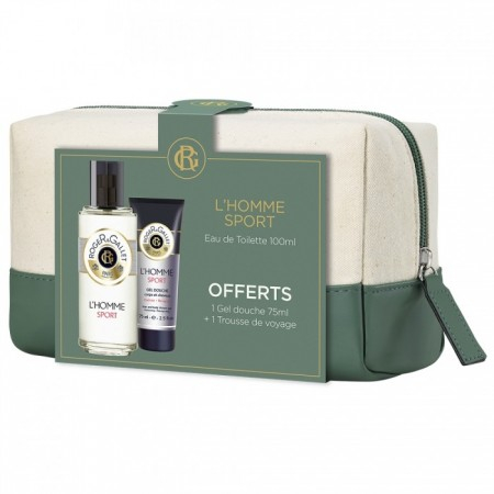 trousse de voyage l 39 homme sport eau de toilette 2 produits de roger gallet sur 1001pharmacies. Black Bedroom Furniture Sets. Home Design Ideas