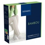 Bambou Classe 2 - Chaussettes Femme Normales Écume - Taille S