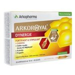 Arkoroyal Dynergie Fortifiant Stimulant Goût Orange & Miel - 20 ampoules