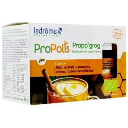 propolis propo 39 grog 6 unidoses de 10 ml de ladr me sur 1001pharmacies. Black Bedroom Furniture Sets. Home Design Ideas