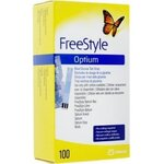 Freestyle Optium - 100 électrodes - Abbott Diabetes Care