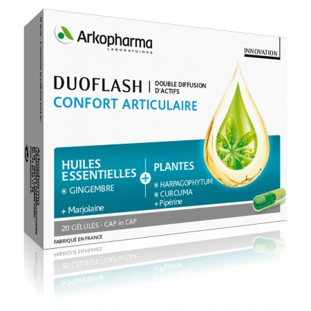 Duoflash Confort Articulaire - 20 Gélules - Arkopharma