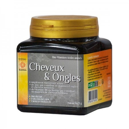 Cheveux & Ongles - 180 gélules - Dayang
