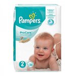 ProCare Premium Protection - Taille 2 (3-6 kg) - 36 couches - Pampers