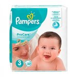 ProCare Premium Protection - Taille 3 (5-9 kg) - 32 couches - Pampers