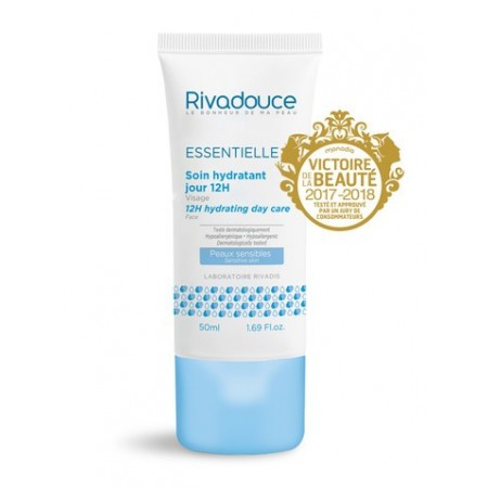 Soin hydratant jour 12h - 50 ml - Rivadouce