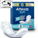 Soft - Absorption 3 Extra - Carton de 80 protections anatomiques