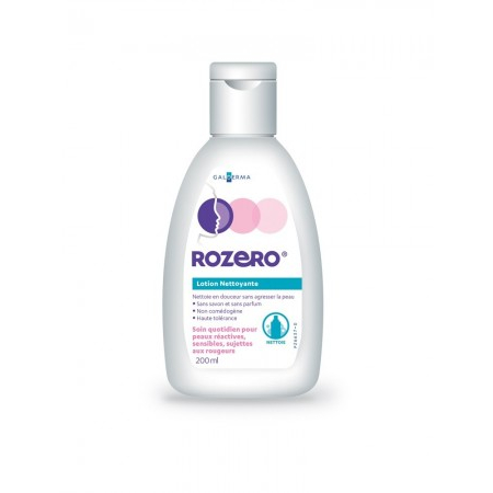 Rozero - Lotion nettoyante - 200 ml - Galderma Self Medication