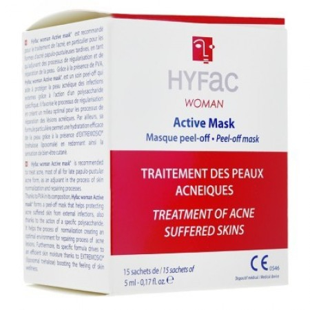 Active mask - 15 sachets de 5 ml - Hyfac