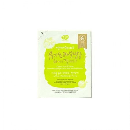 Masque hydrogel aux Fruits organiques & Tomate - 33 g - Whamisa
