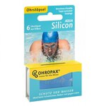 Protection auditive Silicon Aqua - 6 paires