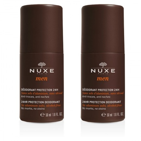 Men - Déodorant protection 24h pour homme - Lot de 2 x 50 ml - Nuxe