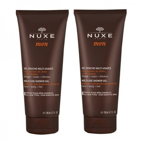 Men - Gel douche multi-usages - Lot de 2 x 200 ml - Nuxe