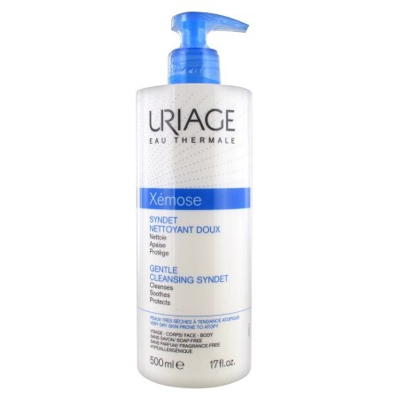 Xémose - Syndet nettoyant doux - 500 ml - Uriage