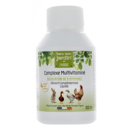 Complexe multivitaminé - 100 ml - Clement Thekan